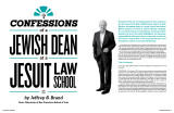 Confessions of a Jewish Dean at a Jesuit Law School